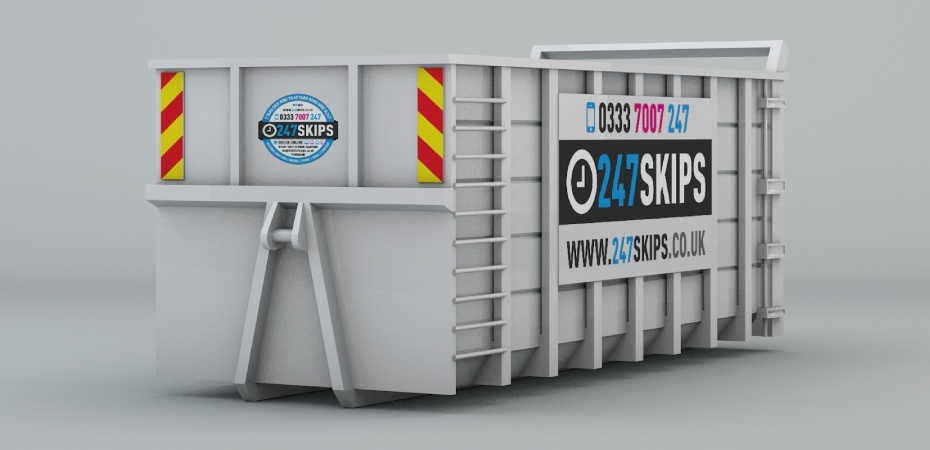 40 Yard Skip Hire Dimentions