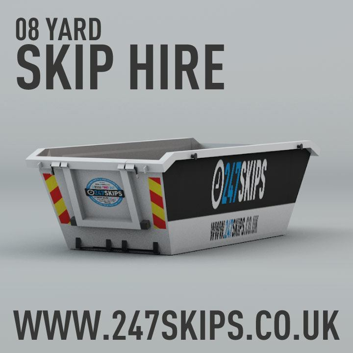 8 Yard Skip Hire Dimentions