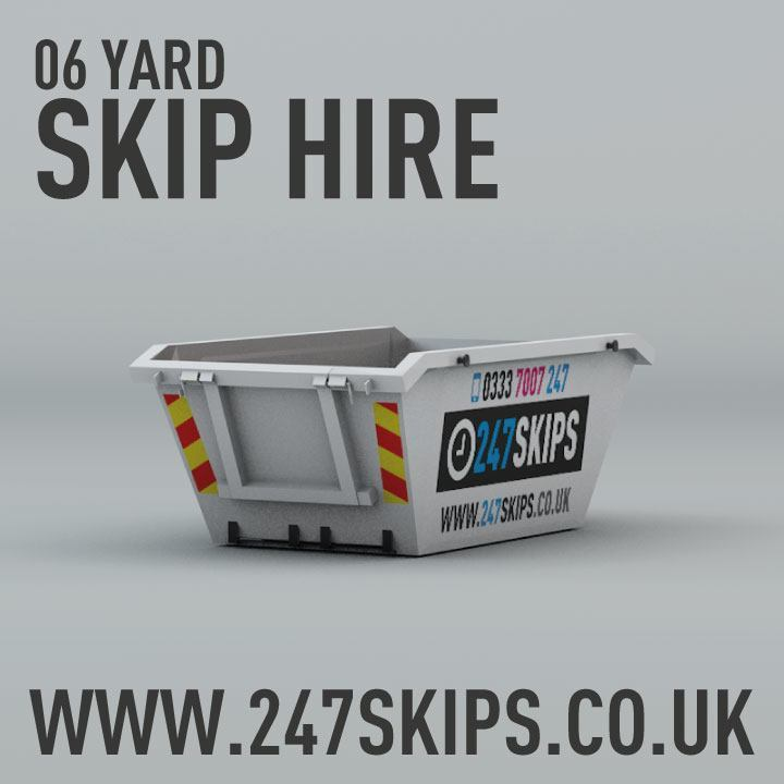 6 Yard Skip Hire Dimentions