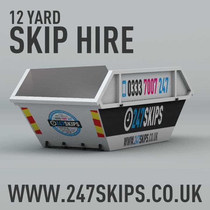12 Yard Skip Hire Dimentions