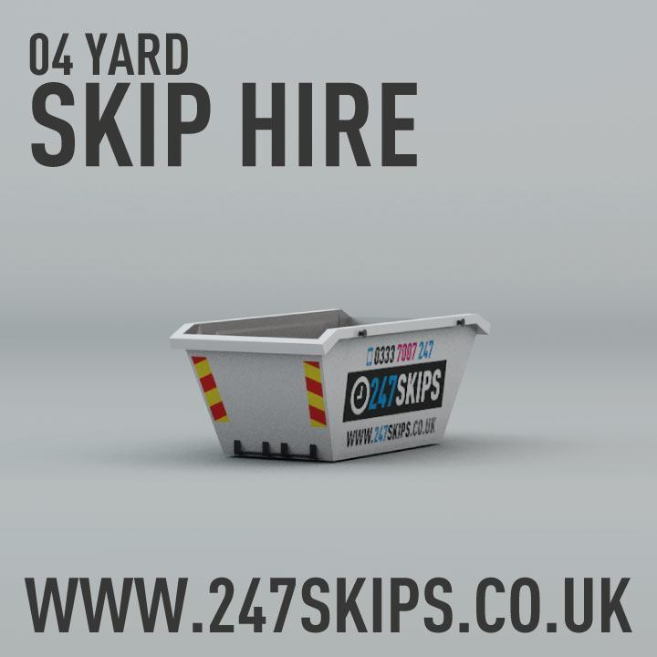 4 Yard Skip Hire Dimentions