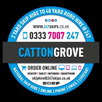 Catton Grove Skip Hire
