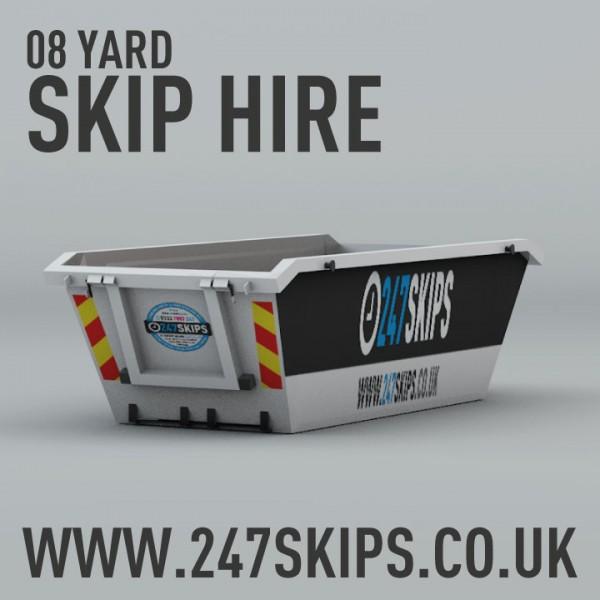 8 Yard Skip Hire from £200.00