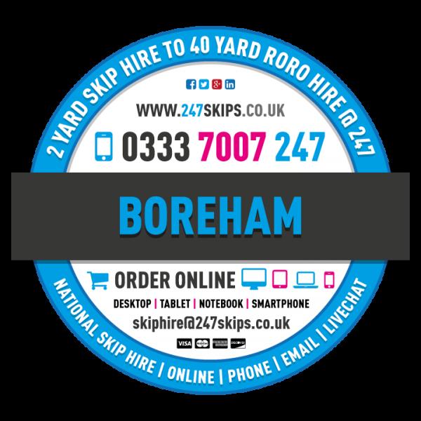 Boreham Skip Hire, Chelmsford Essex