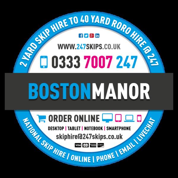 Boston Manor Skip Hire