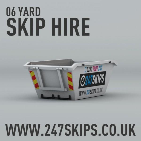 6 Yard Skip Hire | 247 Skips | Local Skip Hire