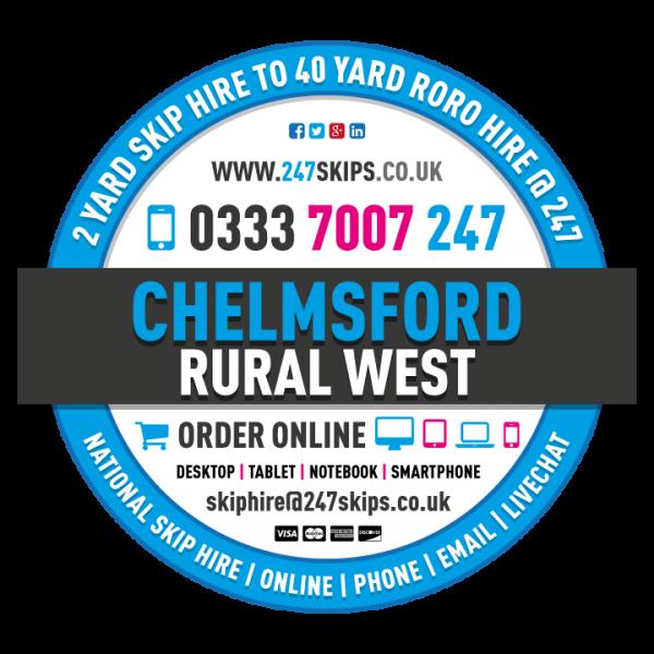 Chelmsford Rural West Skip Hire, Chelmsford Essex