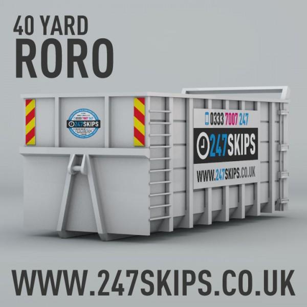 40 Yard Skip Hire from £350.00