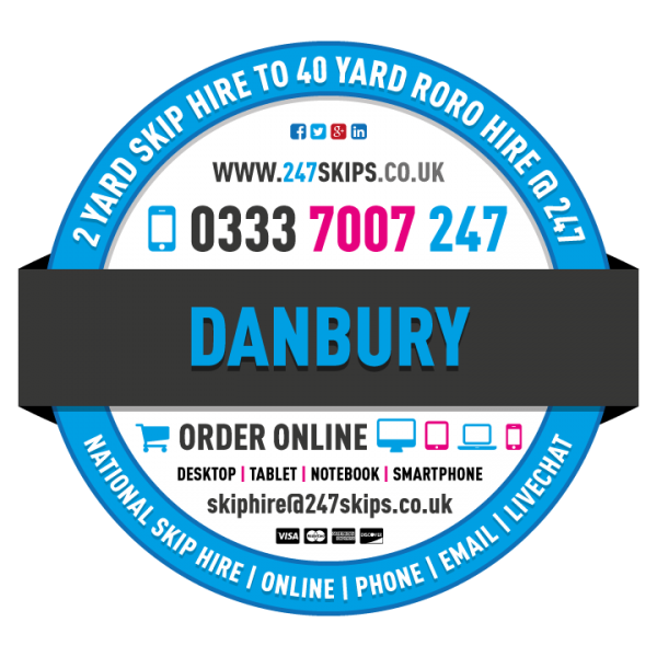 Danbury Skip Hire, Chelmsford Essex