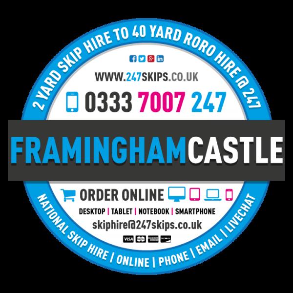 Framingham Castle Skip Hire