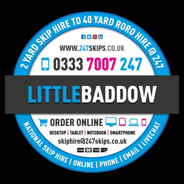 Little Baddow Skip Hire, Chelmsford Essex