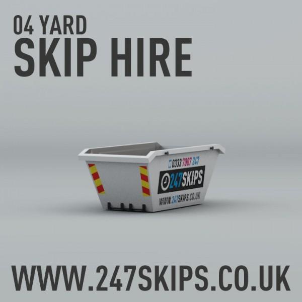 4 Yard Skip Hire | 247 Skips | Local Skip Hire