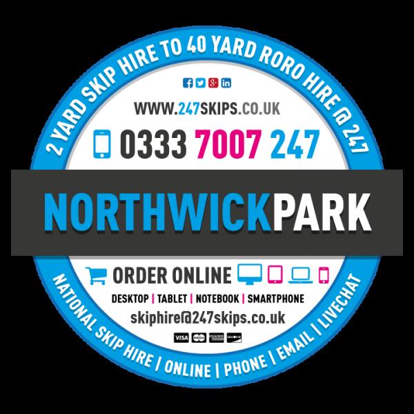 Northwick Park Skip Hire