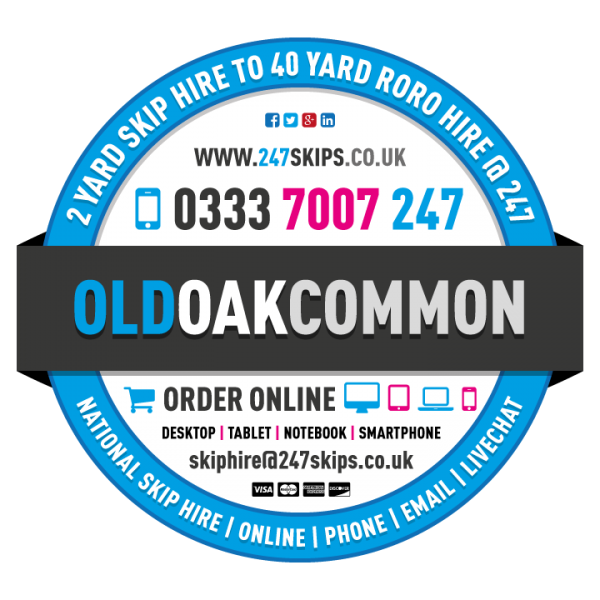 Old Oak Common Skip Hire