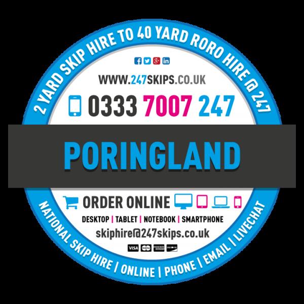 Poringland Skip Hire