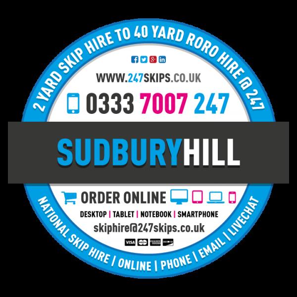Sudbury Hill Skip Hire