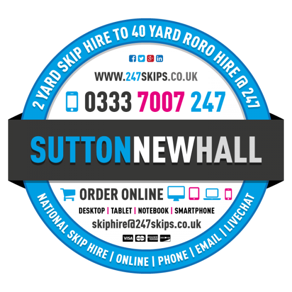 Sutton New Hall Skip Hire