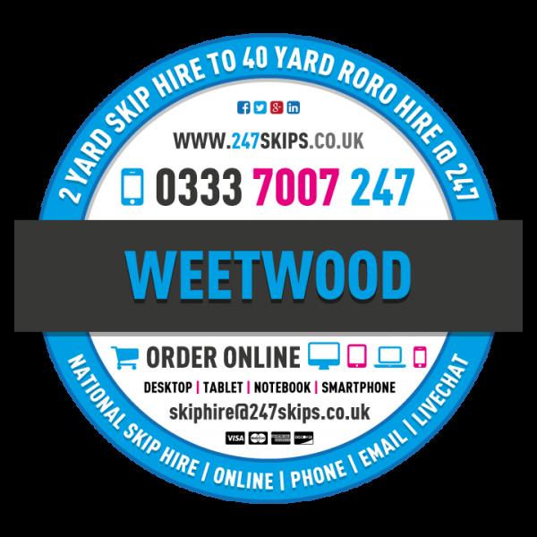 Weetwood Skip Hire