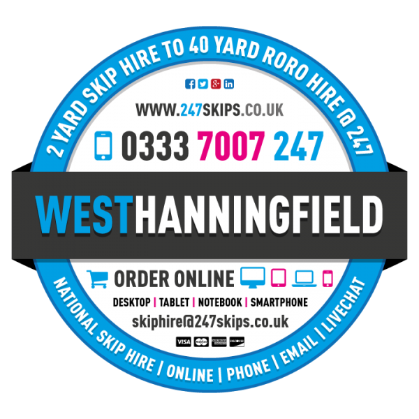 West Hanningfield Skip Hire, Chelmsford Essex